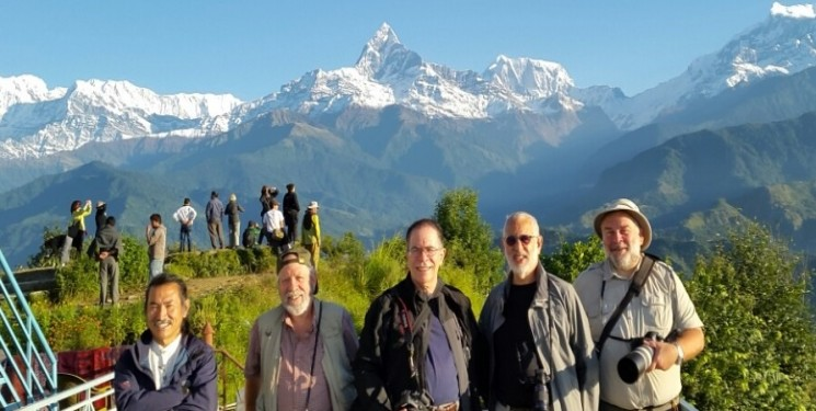 Photographer Group from USA with Nepal's most acclaimed and influential photographer Mani Lama