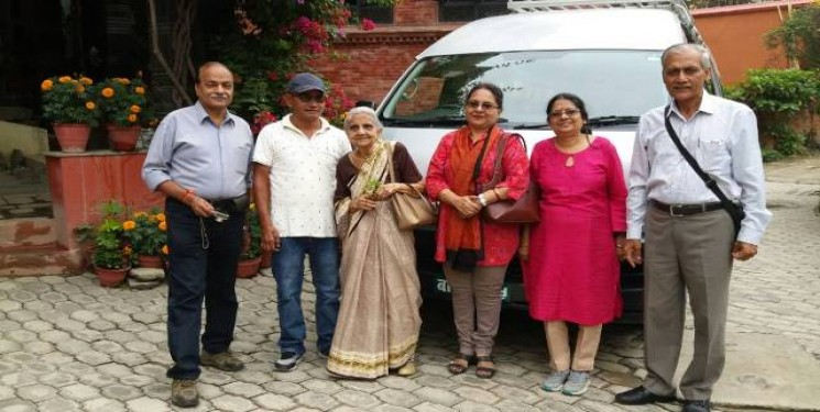 Rakesh Bhatnagar & Family June 2017