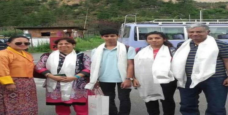 Muzammel H Khondaker and family Bangladesh