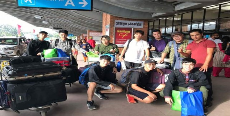 Lem Han Wei and Group Malaysia August September 2017