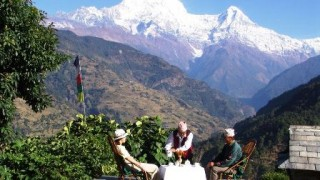 2 Nights 3 days Ker and Downey Annapurna Sanctuary Luxury Lodge Trekking