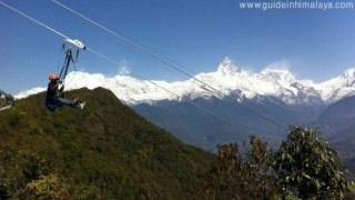 Zip Flyer in Pokhara Nepal